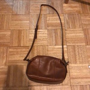 Madewell Brown Leather Shoulder Bag
